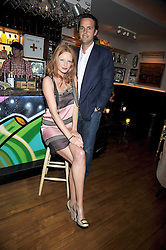 CHARLIE GILKES and OLIVIA INGE at a party to celebrate the opening of Barts, Sloane Ave, London on 26th February 2009.