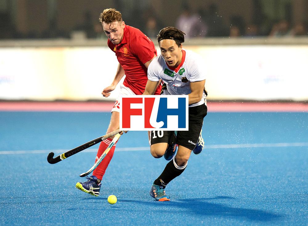 Odisha Men's Hockey World League Final Bhubaneswar 2017<br /> Match id:01<br /> Germany v England<br /> Foto: Dan Nguyen (Ger) and Chris Griffiths (Eng) <br /> WORLDSPORTPICS COPYRIGHT FRANK UIJLENBROEK