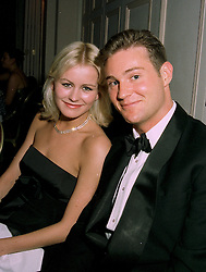 MISS EMMA PARKER-BOWLES and MR MICHAEL PEMBERTON, at a ball in London on 22nd May 1997.LYO 62