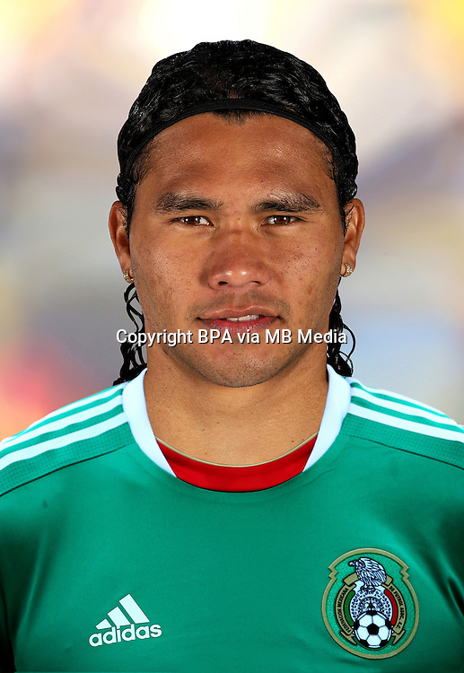 Football Fifa Brazil 2014 World Cup / <br /> Mexico National Team - <br /> Carlos Pena of Mexico