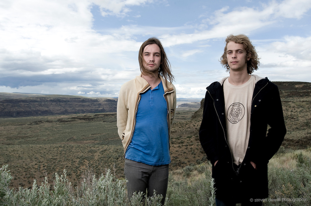 (From left)Kevin Parker and Jay Watson of Tame Impala