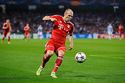 Bayern Forward Arjen Robben (NED) in action during the second half of the match - Photo mandatory by-line: Rogan Thomson/JMP - Tel: Mobile: 07966 386802 - 02/10/2013 - SPORT - FOOTBALL - Etihad Stadium, Manchester - Manchester City v Bayern Munich - UEFA Champions League Group D.