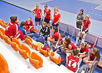 ROTTERDAM - Tilburg D2 tijdens het Landskampioenschap reserveteam zaal 2013. FOTO KOEN SUYK