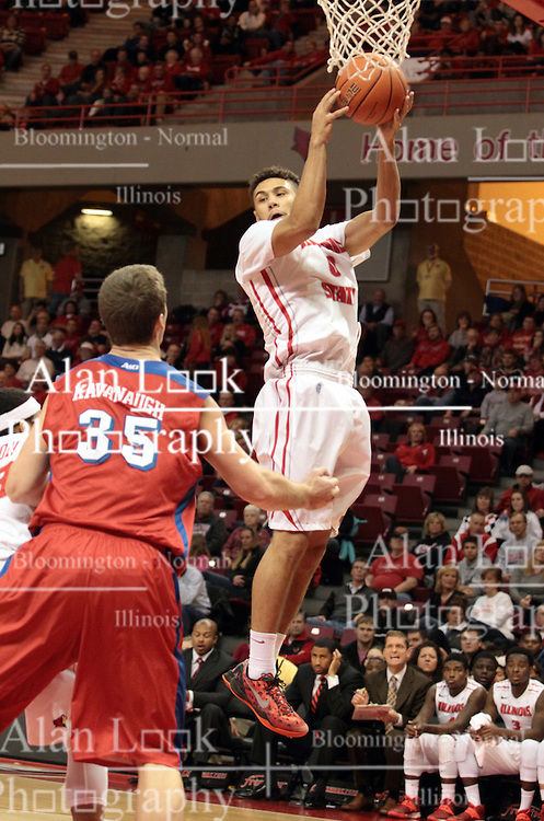 07 December 2013:  Kaza Keane during an NCAA mens basketball game. The Illinois State Redbirds beat the 25th ranked Dayton Flyers 81-75 in Redbird Arena, Normal IL