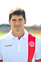 Laurent BESSIERE - 28.09.2015 - Photo officielle Reims - Ligue 1<br /> Photo : Dave Winter / Icon Sport