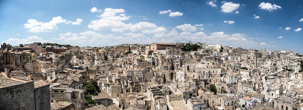 Matera, Italia, 2013<br /> Panorama dei Sassi di Matera, patrimonio mondiale dell'Unesco<br /> <br /> Matera, Italy, 2013<br /> Landscape of the Sassi of Matera, Unesco world heritage