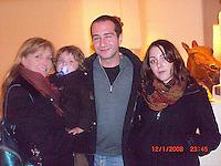 Alex his sister Christine and Dante
