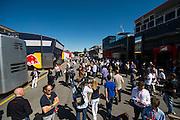 September 3-5, 2015 - Italian Grand Prix at Monza: Paddock atmosphere