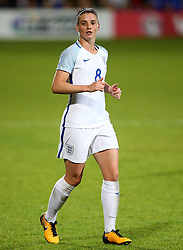 Jade Moore of England - Mandatory by-line: Matt McNulty/JMP - 19/09/2017 - FOOTBALL - Prenton Park - Birkenhead, United Kingdom - England v Russia - FIFA Women's World Cup Qualifier