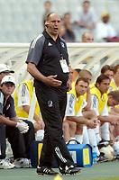 FOTBALL - CONFEDERATIONS CUP 2003 - GROUP A - 030618 - NEW ZEALAND v JAPAN - MICK WAITT (NEW ZEALAND COACH) - PHOTO STEPHANE MANTEY / DIGITALSPORT