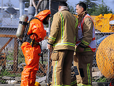 Auckland-Fire crews respond to chemical reaction, Rosebank Road