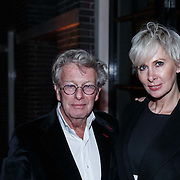NLD/Amsterdam/20131114 - 10 jarig bestaan Louis Vuitton Nederland, Jan des Bouvrie en partner Monique