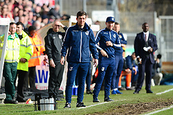 Bristol Rovers manager Darrell Clarke looks on - Mandatory by-line: Dougie Allward/JMP - 10/03/2018 - FOOTBALL - Memorial Stadium - Bristol, England - Bristol Rovers v Northampton Town - Sky Bet League One