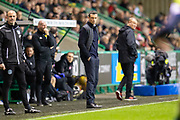 Hibernian FC manager, Jack Ross during the Ladbrokes Scottish Premiership match between Hibernian FC and Hamilton Academical FC at Easter Road Stadium, Edinburgh, Scotland on 22 January 2020.