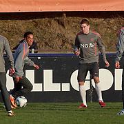 NLD/Katwijk/20110321 - Training Nederlandse Elftal Hongarije - NLD, Urby Emanuelson,