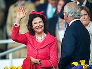 2016/12/07 Duitsland Aken - Deelname aan de opening van het CHIO Aken van koningin Silvia en koning Carl XVI Gustaf van Zweden en  prinses Benedikte van Denemarken COPYRIGHT ROBIN UTRECHT 12-7-2016 GERMANY AACHEN - Attendance at the opening of the CHIO Aachen  of Queen Silvia and King Carl XVI Gustaf of Sweden COPYRIGHT ROBIN UTRECHT