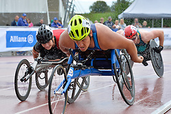 06/08/2017; Jimenez-Vergara, Miguel, T54, USA, Malter, Ludwig, AUT, Rizzo, Samuel, AUS at 2017 World Para Athletics Junior Championships, Nottwil, Switzerland
