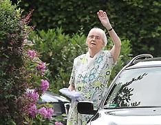 Heinrich Himmler's daughter Gudrun Burwitz