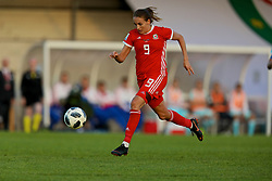 NEWPORT, WALES - Tuesday, June 12, 2018: Wales' Kayleigh Green during the FIFA Women's World Cup 2019 Qualifying Round Group 1 match between Wales and Russia at Newport Stadium. (Pic by David Rawcliffe/Propaganda)