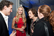 BRENDAN COLE; ZOE HOBBS; CHERIE BLAIR; KATHRYN BLAIREnglish National Ballet's party before performance of the ' The Nutcracker. St. Martin's Lane Hotel. London 14 December 2011.