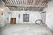 empty attic roof space