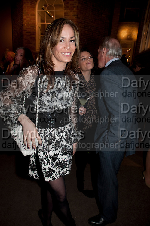 TARA PALMER-TOMPKINSON, Santa Sebag Montefiore and Asprey's host a book launch for Jerusalem: the Biography by Simon Sebag Montefiore. Asprey. New Bond St. London. 26 January 2010. -DO NOT ARCHIVE-© Copyright Photograph by Dafydd Jones. 248 Clapham Rd. London SW9 0PZ. Tel 0207 820 0771. www.dafjones.com.