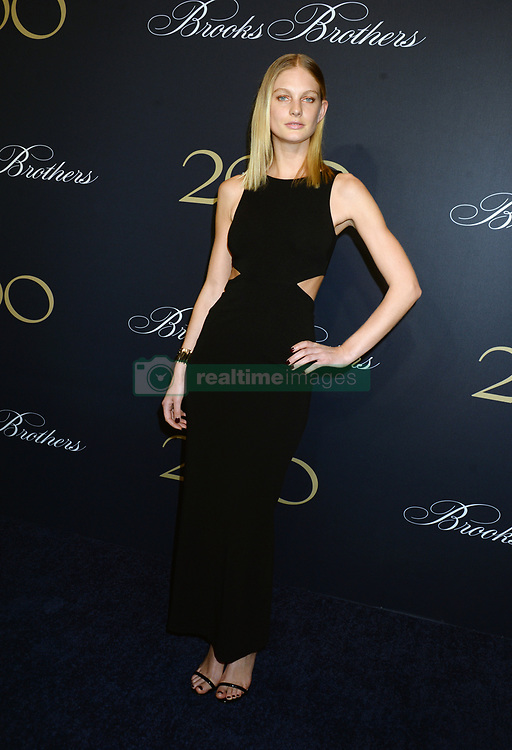 Guest attending Brooks Brothers Bicentennial Celebration At Jazz At Lincoln Center, New York City, NY, USA, on April 25, 2018. Photo by Dennis Van Tine/ABACAPRESS.COM