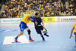 PSG HB vs CPL during handball match between RK Celje Pivovarna Lasko (SLO) and Paris Saint-Germain HB (FRA) in VELUX EHF Champions League 2018/19, on February 24, 2019 in Arena Zlatorog, Celje, Slovenia. Photo by Peter Podobnik / Sportida