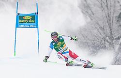 Justin Murisier of Switzerland during 1st run of Men's Giant Slalom race of FIS Alpine Ski World Cup 57th Vitranc Cup 2018, on 3.3.2018 in Podkoren, Kranjska gora, Slovenia. Photo by Urban Meglič / Sportida
