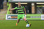 Forest Green Rovers Marcus Kelly(10) during the Vanarama National League match between Forest Green Rovers and Wrexham FC at the New Lawn, Forest Green, United Kingdom on 18 March 2017. Photo by Shane Healey.