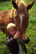 Boy with horse<br />