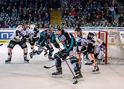 03.03.2019, Keine Sorgen Eisarena, Linz, AUT, EBEL, EHC Liwest Black Wings Linz vs Dornbirn Bulldogs, Qualifikationsrunde, 51. Runde, im Bild Brian Lebler (EHC Liwest Black Wings Linz) // during the Erste Bank Eishockey League 50th round match between EHC Liwest Black Wings Linz and Dornbirn Bulldogs at the Keine Sorgen Eisarena in Linz, Austria on 2019/03/03. EXPA Pictures © 2019, PhotoCredit: EXPA/ Reinhard Eisenbauer