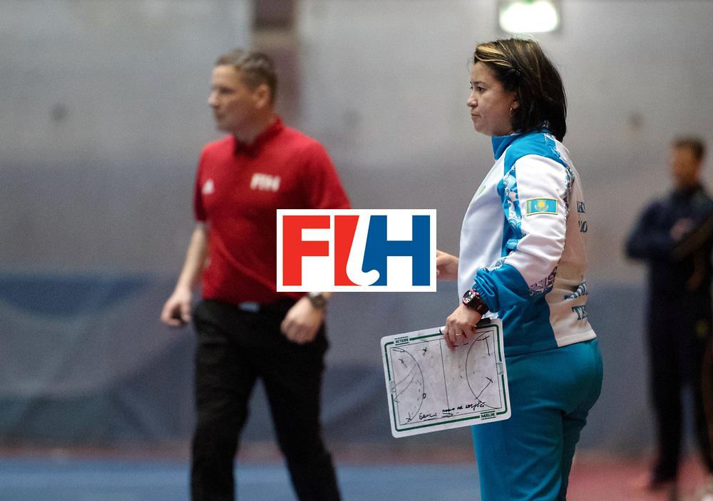 BERLIN - Indoor Hockey World Cup<br /> Kazakhstan - South Africa<br /> foto: URMANOVA Olga<br /> WORLDSPORTPICS COPYRIGHT FRANK UIJLENBROEK