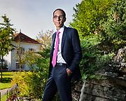 Genève, 26 septembre 2017. Olivier Hari succède à Florence Notter à la tête de la Fondation de l'OSR. Le nouveau président a été élu à la majorité des voix en Conseil de fondation. © Olivier Vogelsang