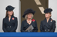 KATE Joins Royals At Remembrance Service 2014, London