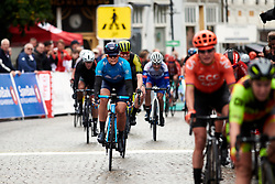 Sheyla Gutierrez Ruiz (ESP) gets a top ten finish at Ladies Tour of Norway 2019 - Stage 1, a 128 km road race from Åsgårdstrand to Horten, Norway on August 22, 2019. Photo by Sean Robinson/velofocus.com