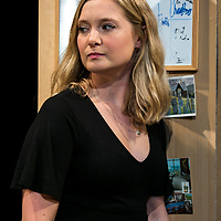 TOUCH by Jones ;<br /> Amy Morgan as Dee ;<br /> Directed by Vicky Jones ;<br /> Soho Theatre, London, UK ;<br /> 11 July 2017 ;<br /> Credit: Pete Jones / ArenaPAL ;<br /> www.arenapal.com
