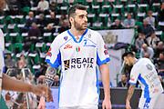 DESCRIZIONE : Beko Legabasket Serie A 2015- 2016 Dinamo Banco di Sardegna Sassari - Openjobmetis Varese<br /> GIOCATORE : Francesco Pellegrino<br /> CATEGORIA : Ritratto Riscaldamento Before Pregame<br /> SQUADRA : Dinamo Banco di Sardegna Sassari<br /> EVENTO : Beko Legabasket Serie A 2015-2016<br /> GARA : Dinamo Banco di Sardegna Sassari - Openjobmetis Varese<br /> DATA : 07/02/2016<br /> SPORT : Pallacanestro <br /> AUTORE : Agenzia Ciamillo-Castoria/C.Atzori