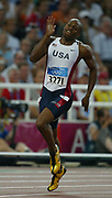 Otis Harris of the United States was second in the 400 meters in a career-best 44.16  in the 2004 Olympics in Athens, Greece on Monday, August 23, 2004.