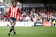 Brentford Midfielder Romaine Sawyers (19) during the EFL Sky Bet Championship match between Brentford and Reading at Griffin Park, London, England on 16 September 2017. Photo by Andy Walter.