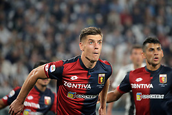 October 20, 2018 - Turin, Turin, Italy - Krzysztof Piatek #9 of Genoa CFC during the serie A match between Juventus FC and Genoa CFC at Allianz Stadium on October 20, 2018 in Turin, Italy. (Credit Image: © Giuseppe Cottini/NurPhoto via ZUMA Press)
