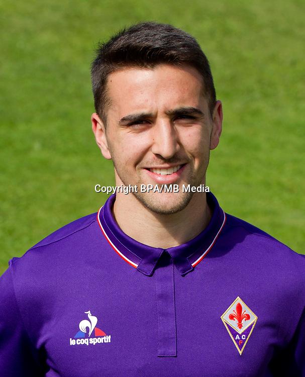 Italian League Serie A -2016-2017 / <br /> ( ACF Fiorentina ) - <br /> Matias Vecino Falero