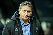 Nottingham Forest manager Philippe Montanier agead of the EFL Sky Bet Championship match between Newcastle United and Nottingham Forest at St. James's Park, Newcastle, England on 30 December 2016. Photo by Craig Doyle.
