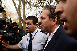 Charles Saatchi arrives at Isleworth Court to give evidence during the fraud trial of Nigella Lawson's two former assistants, Elisabetta Grillo and Francesca Grillo. Friday, 29th November 2013. Picture by Ben Stevens / i-Images<br />