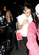 08.MARCH.2012. LONDON<br /> <br /> NICKY HILTON AND CASSIE AT THE EMBASSY CLUB IN MAYFAIR, LONDON<br /> <br /> BYLINE: EDBIMAGEARCHIVE.COM<br /> <br /> *THIS IMAGE IS STRICTLY FOR UK NEWSPAPERS AND MAGAZINES ONLY*<br /> *FOR WORLD WIDE SALES AND WEB USE PLEASE CONTACT EDBIMAGEARCHIVE - 0208 954 5968*