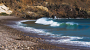 Waves at Scorpion Cove, Santa Cruz Island, Channel Islands National Park, California USA