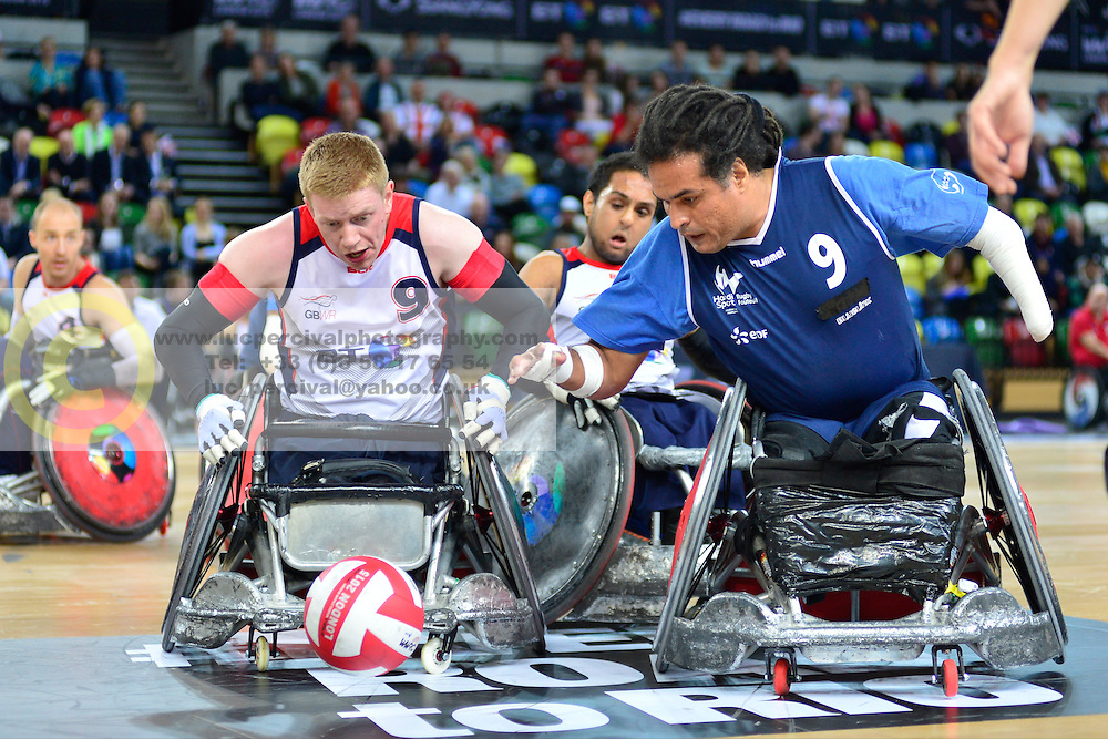 FRA v GBR Wheelchair Rugby Match  45-55