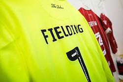 Shirts of Frank Fielding and Joe Bryan hang in the Bristol City dressing room - Rogan/JMP - 18/11/2017 - Hillsborough Stadium - Sheffield, England - Sheffield Wednesday v Bristol City - Sky Bet Championship.