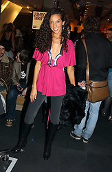 Television presenter TERI SEYMOUR close friend of Simon Cowell at a Topshop hosted Jumbo Thrift Sale - a sale of designer fashion, in association with the Terence Higgins Trust for World Aids Day, held at Topshop, Oxford Circus, London on 1st December 2004.<br /><br />NON EXCLUSIVE - WORLD RIGHTS