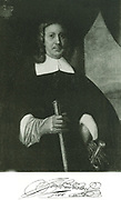 Jan Van Riebeek (1618-1677).  The founder of Dutch South Africa is represented here at the age of about fifty, having gone through a life of many hardships and dangers.